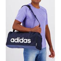 Bolsa Adidas Linear Duffle Especial Marinho
