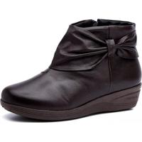 Bota Anabela Doctor Shoes 158 Café