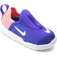 Tênis Infantil Nike Lil Swoosh Feminino - Feminino-Roxo+Branco
