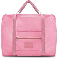 Bolsa De Viagem Jacki Design Dobrável - Unissex-Rosa