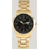 Relógio Analógico Technos Masculino - 2115Mtd4P Dourado - Único