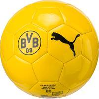abe5a08260 ... Mini Bola De Futebol Campo Infantil Puma Borussia Dortmund Graphic -  Unissex
