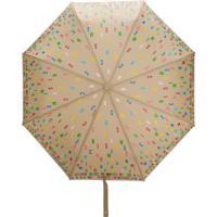 Moschino Guarda-Chuva Com Estampa De Logo - Neutro