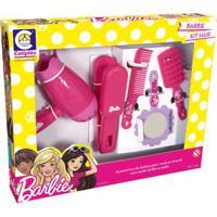 Conjunto De Acessórios - Barbie - Hair Style - Cotiplás