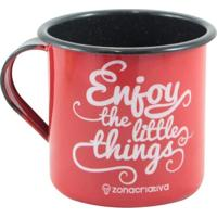 Caneca Retrô Enjoy The Little Things