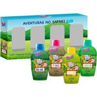 Kit Quarteto Mini Delikad Kids Safari - Unissex-Incolor