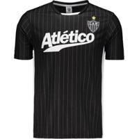 Netshoes  Camisa Atlético Mineiro Baseball Masculina - Masculino 210f43d00420d