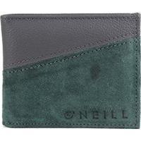 Carteira O'Neill 24012 Masculina - Masculino-Preto+Verde