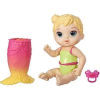 Boneca Baby Alive Linda Cauda Loira Com Acessórios - Feminino-Colorido