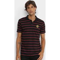 Camisa Polo Flamengo Adt Masculina - Masculino