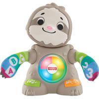 Brinquedo De Atividades - Linkimals - Bicho Preguiça Movimentos Divertidos - Fisher-Price - Tricae