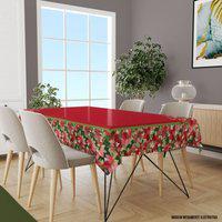 Toalha De Mesa Retangular 10-12 Lugares Floral 1.45M X 3.20M Único