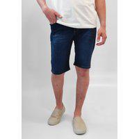 Bermuda Jeans Nicoboco Azul Escuro