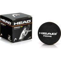 Bola De Squash Head Prime Preta - Unissex