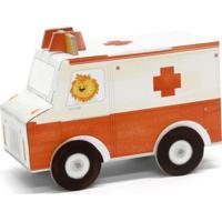 Carrinho De Montar Ambulância
