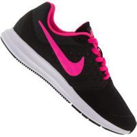 Tênis Nike Downshifter 7 Feminino - Infantil - Preto/Rosa