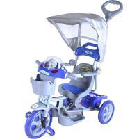 Triciclo C/ Capota E.T. Azul Belfix