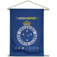Flâmula Cruzeiro Escudo Azul