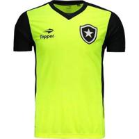 Camisa Topper Botafogo Treino Masculina - Masculino