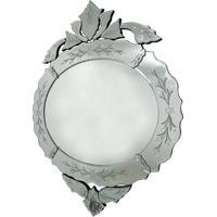 Espelho Decorativo Veneziano Oval Asolo