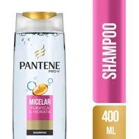 Shampoo Pantene Micelar Purifica E Hidrata 400Ml