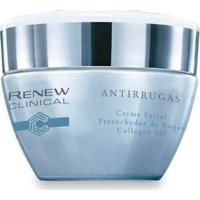 Renew Clinical Antirrugas Creme Facial Preenchedor De Rugas Collagen 3D 30G - Unissex-Incolor