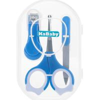 Kit Manicure Infantil Premium Azul Kababy - Incolor - Masculino - Dafiti