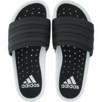 Chinelo Adidas Adilette Boost - Slide - Masculino - Branco/Preto