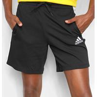 Short Adidas Adidas Essentials Masculino - Masculino-Preto+Branco