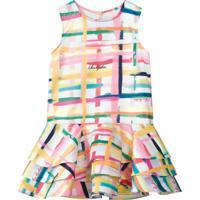 Vestido Lilica Ripilica Infantil 101102960001 Branco