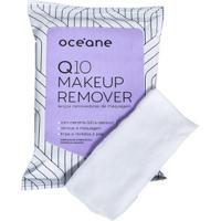 Lenços Removedores De Maquiagem Océane - Q10 Make-Up Remover 20 Un - Feminino