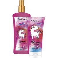 Kit Delikad Fantasy Unicornio (Body Splash + Body Lotion) 2 X 200Ml