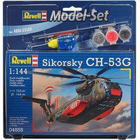 Kit Para Montar Model Set Helicóptero Sikorsky Ch-53G 1:144 Rev64858
