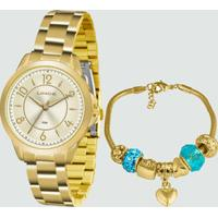 Kit Relógio Feminino Lince Lrg4504L Ku49C2Kx