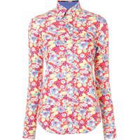 Polo Ralph Lauren Floral Print Shirt - Vermelho
