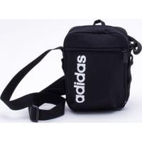 4c5f6a581 Bolsa Adidas Linear Core Preta Único