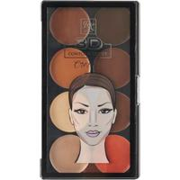 Paleta De Contorno Cremosa Rk By Kiss - 3D Contour Artist Cream Medium Dark - Feminino-Incolor