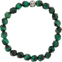 Nialaya Jewelry Pulseira Com Pedras Facetadas - Verde