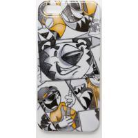 """Case Iphone 5/5S """"Tigor T. Tigre®"""" - Branca & Amarelo Eslilica Ripilica E Tigor T. Tigre"""