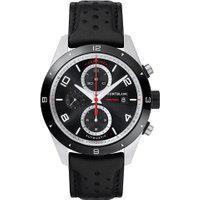 Relógio Montblanc Masculino Couro Preto - 116098