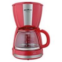 Cafeteira Britania 30 Cafezinhos Inox Vermelha - Cp30