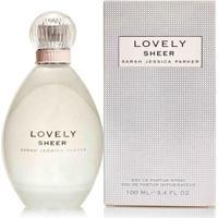Lovely Sheer De Sarah Jessica Parker Eau De Parfum Feminino 100 Ml