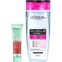 L'Oréal Paris Kit - Água Micelar 5 Em 1 + Detox Argila Pura Esfoliante Kit - Unissex-Incolor