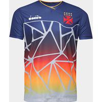 Netshoes  Camisa Vasco Treino 2018 Atleta Diadora Masculina - Masculino ff41f033156dc
