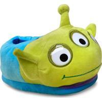 Pantufa Masc Infantil Ricsen 10764 Alien Toy Story Azul/Verde