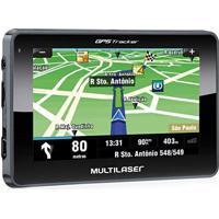 Gps Navegador Tracker Iii Tela 4.3Pol. Touchscreen Gp033 Multilaser