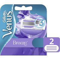 Carga Para Aparelho De Depilação Gillette Venus Breeze - 2 Unidades