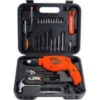 Kit Furadeira Black Decker Hd500Ks Mandril 1/2 Polegadas 550W