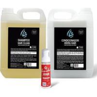 Kit Shampoo 5L + Condicionador 5L Lavatório + Sérum 100 Mllouhi - Unissex-Incolor
