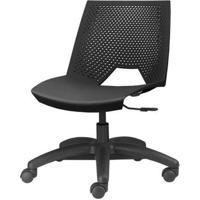 Cadeira Strike Preta Base Rodizio - 54077 Sun House